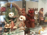 Owl art and craft collections.